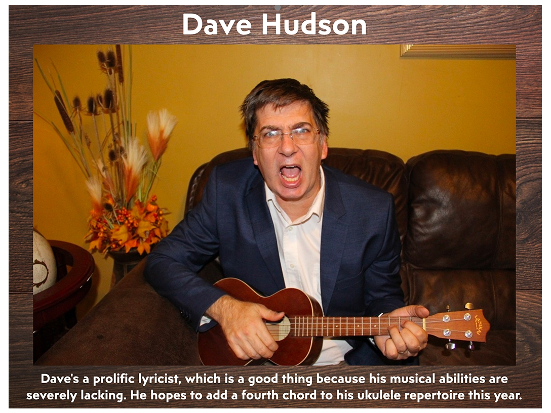 Dave Hudson - July