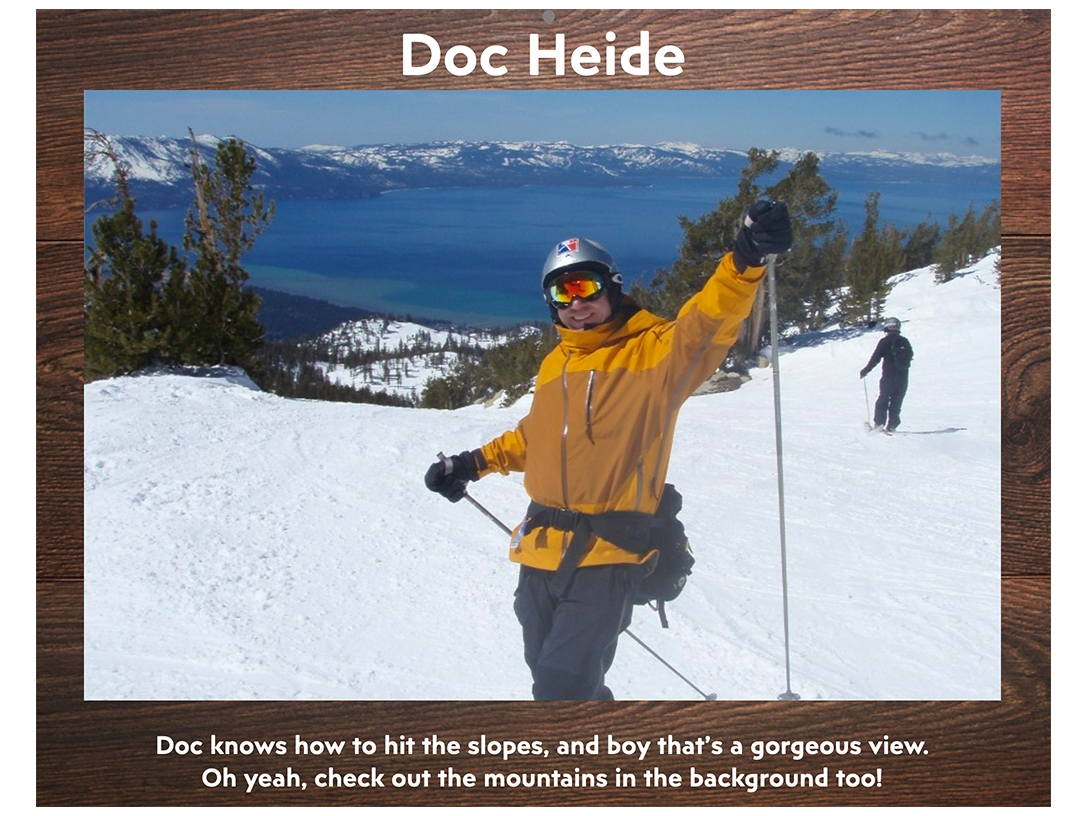 Doc Heide - January