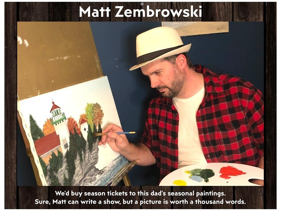 Matt Zembrowski - August