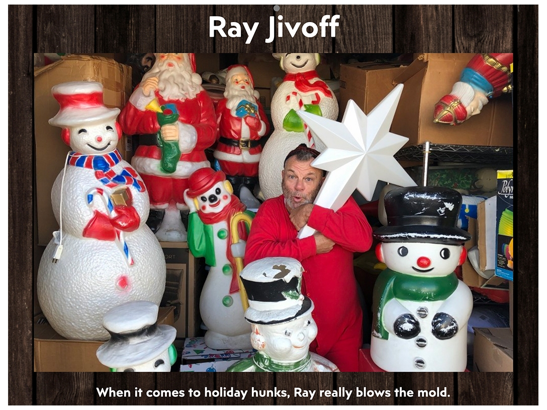 Ray Jivoff - December