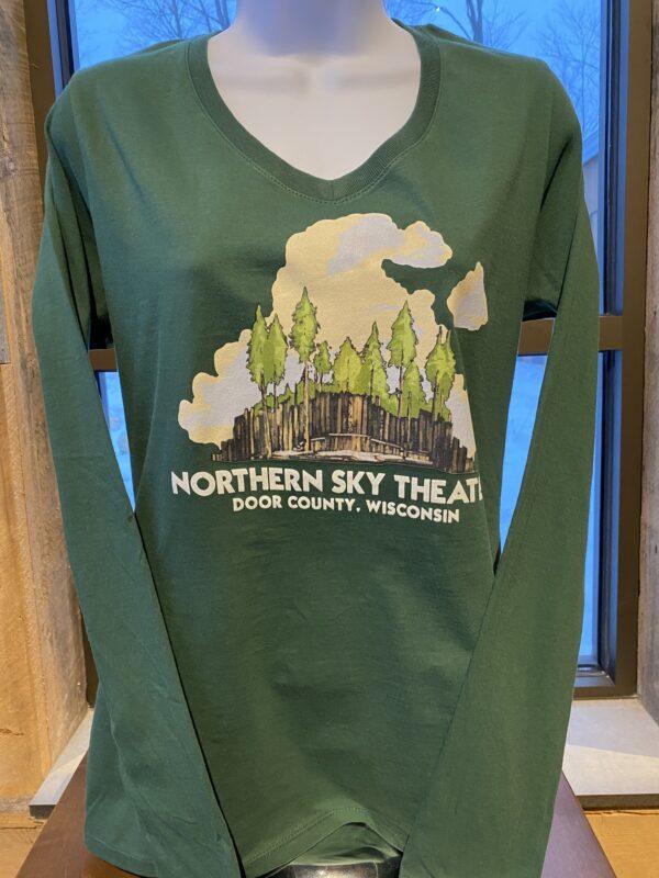 LS Tshirt Green